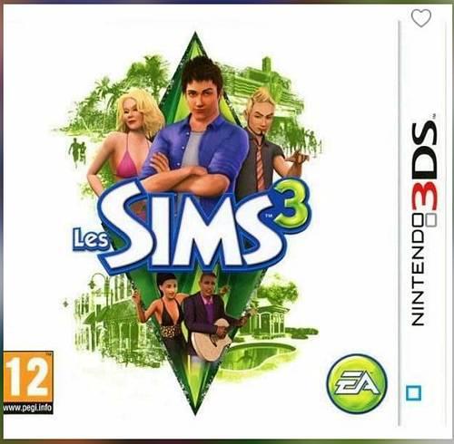LES SIMS 3/ Jeu console 3DS