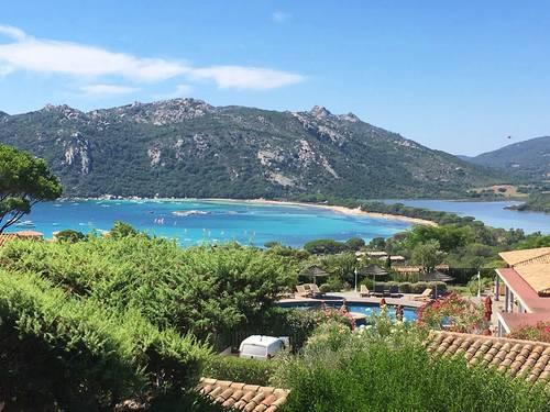 Sud Corse dans residence privée appart 4couchages tout confort vue mer proximité de la plage