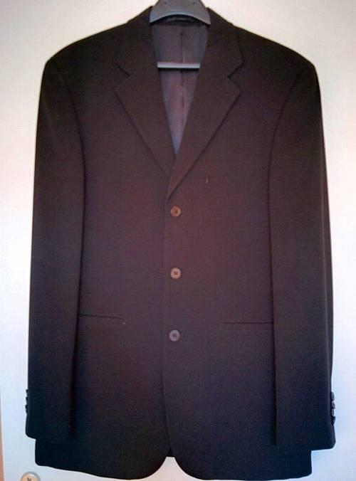 Costume Armand Thiery noir taille M très bon état