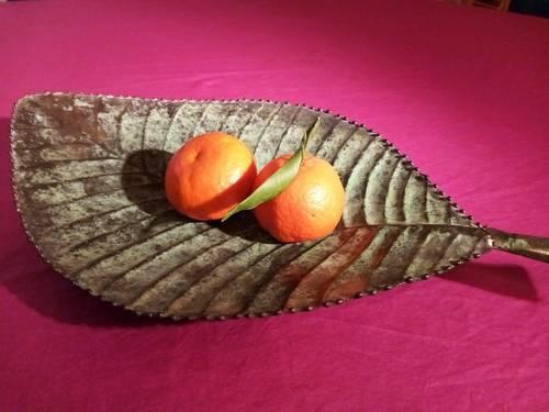 Coupe à fruit très décorative