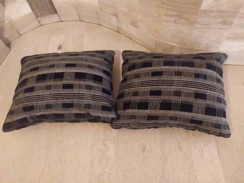 Lot de 2coussins ou dossiers pour canapé fauteuils Tendance