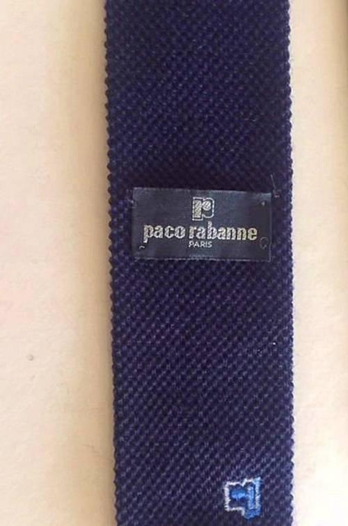 Vends Cravate vintage PACO RABANNE