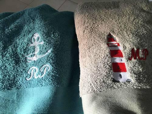Créer votre serviette de toilette personnalisée!