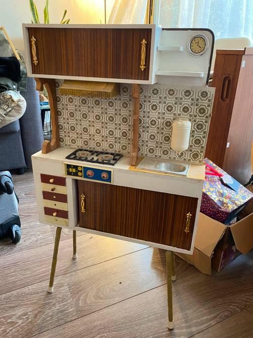 Cuisine vintage jeux/ décoration pour chambre d'enfant