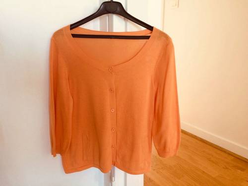 Haut CYRILLUS Orange taille 38