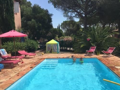 Loue villa à Sainte Maxime (83) 200m de la plage 4ch 8couchages