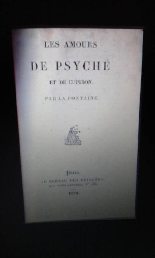 Livre Les amours de Psyché et de Cupidon DE LA FONTAINE