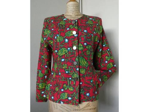 Vends veste demi-saison lin et coton taille 40