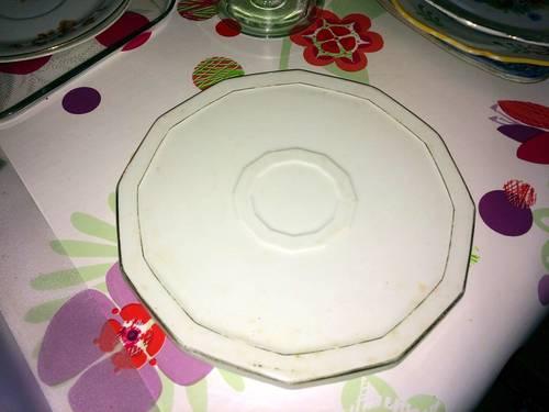 Dessous de plat en porcelaine de Limoges
