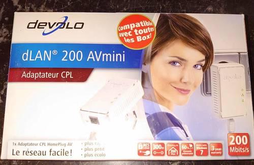 """CPL """"DEVOLO"""" dLAN 200AVplus (adaptateur CPL) - Devolo"""