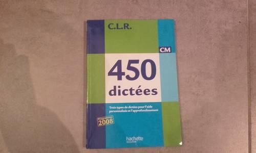 450dictées - Hachette