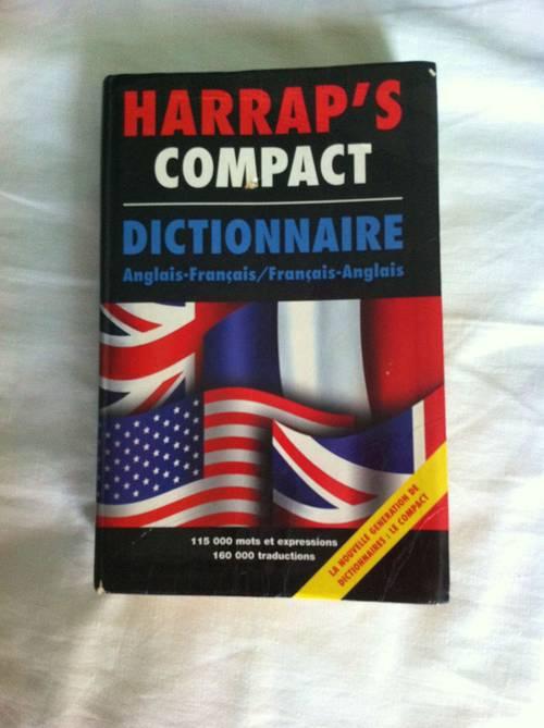 Dictionnaire HARRAP'S compact