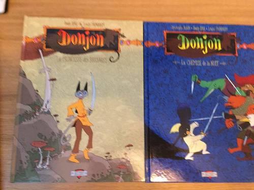 BD Donjon Sfar et Trondheim deux tomes