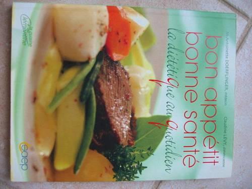 Donne Un livre de dietétique quasi neuf
