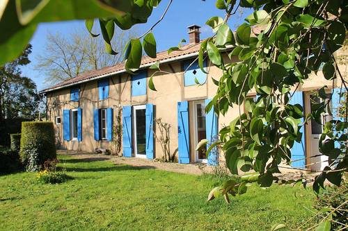 Loue maison plain-pied, Dordogne, pleine campagne 4personnes