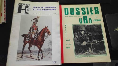 Dossier H - Revue d'histoire militaire - N°0& de 2à 13