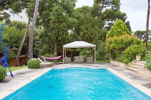 Loue duplex indépendant dans belle villa - 1chambre, 2couchages, Antibes (06)