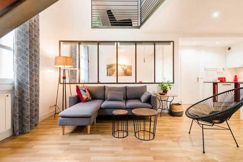 Loue Duplex style loft centre ville de Montpellier, 2couchages