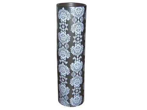 Vases Cylindres en Porcelaine Noire NEUFS