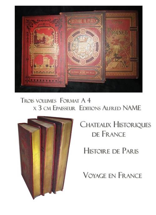 Trois magnifiques livres anciens