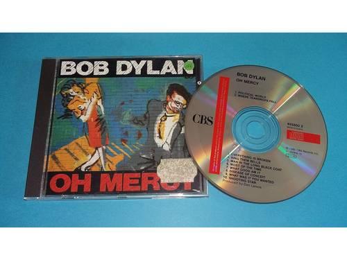 CD, compact disque, bob dylan, Oh Merci 1989