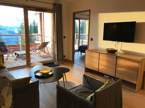 Loue appartement espace, superbe vue, sauna - 3chambres- 8couchages, L'Ecrin, Arc 1800