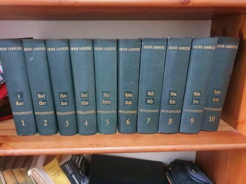 Encyclopédie Larousse, en 10volumes, 1960