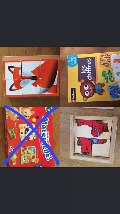 Vends jeux enfants 2/3ans