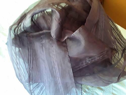 Étole mousseline de soie