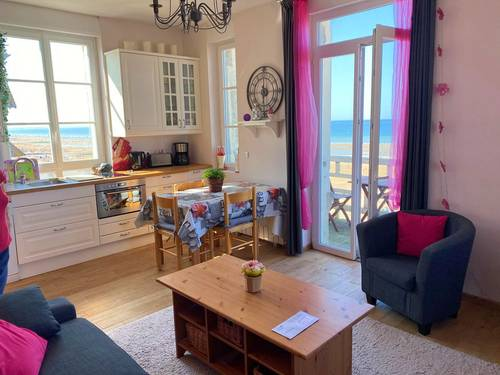 Loue appartement, 2chambres, 4couchages vue mer exceptionnelle 3pièces Cabourg (14)