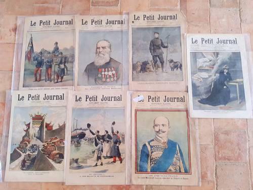 """Des exemplaires du célèbre """"Petit journal"""""""