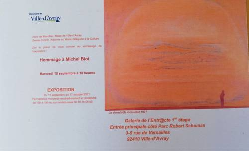 Expos peintures de Michel Biot