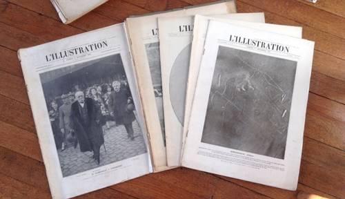 41revues anciennes L'Illustration années 17-18-19
