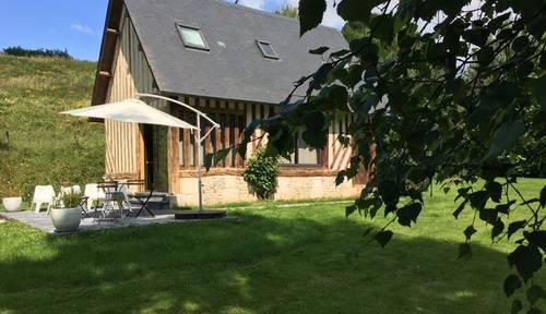 Loue jolie maison normande 2chambres 4/5personnes. 20min Deauville