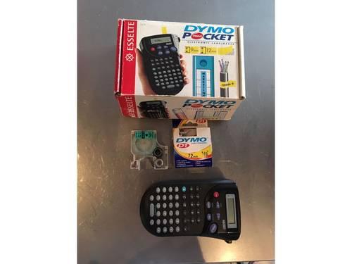 Vends Etiqueteuse électronique DYMO avec recharges