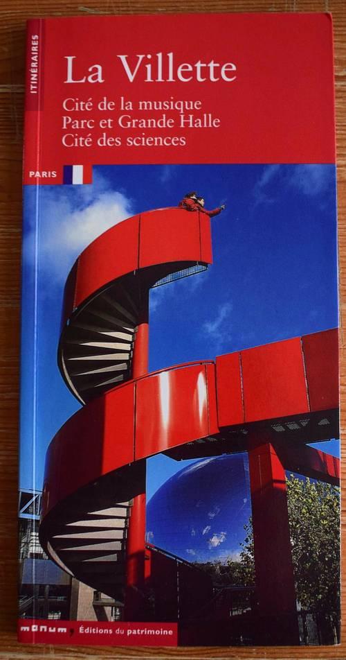 Vends Fascicule itinéraires La villette Paris