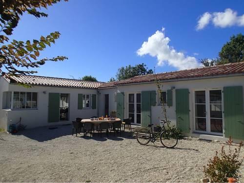 Loue maison à La couarde-sur-mer, Ile de Ré, 17, maison 8couchages