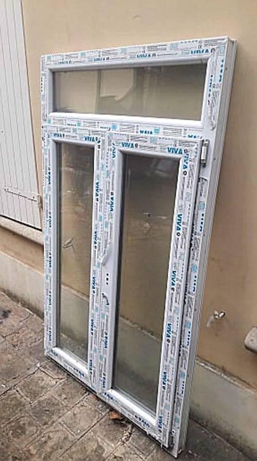 Fenêtre PVC neuve 163x 96