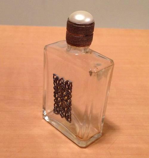 Flacon de parfum rectangulaire pour sac à main