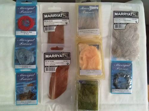 Fournitures pour pêche à la mouche - marque Maryatt