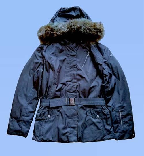 Fusalp veste de ski femme capuche fourrure