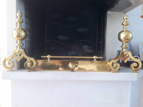 Garniture de cheminée Style Napoléon III et serviteur