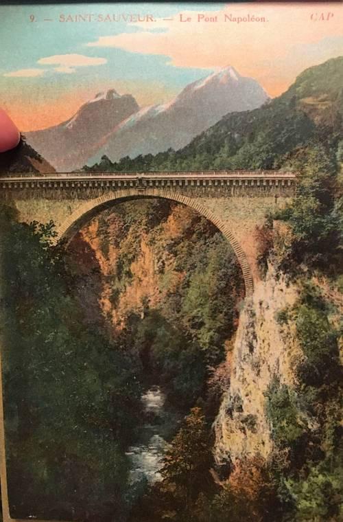 De Luz à Gavarnie, album cartes postales anciennes