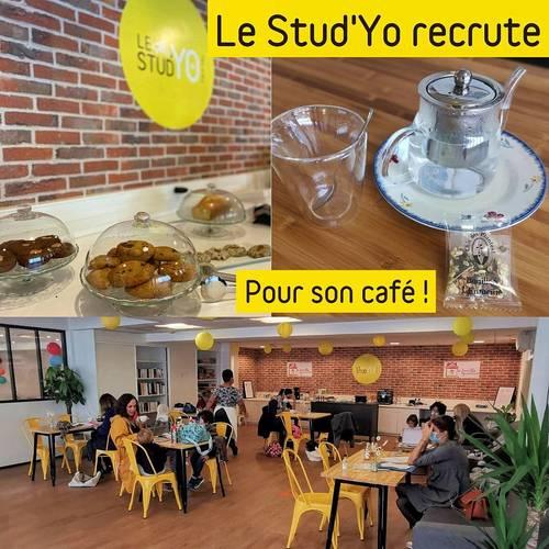 Recrute personne pour gérer, animer le café du Stud'Yo Tiers Lieu- H/F