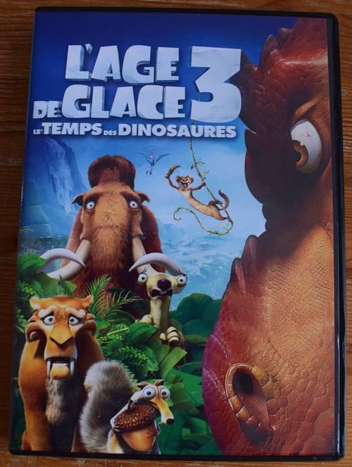 DVD l'âge de glace 3
