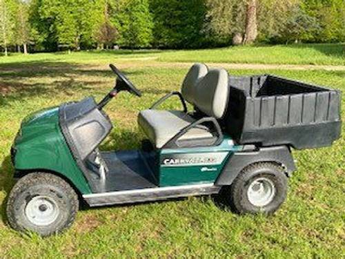 Vends Golfette électrique Club Car Carryall 2322017, 100Km
