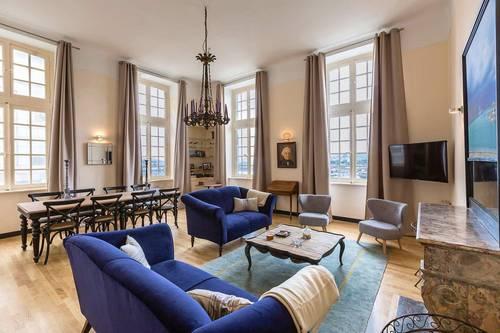 Loue grand appartement de charme 8couchages - Saint Malo intramuros (35)