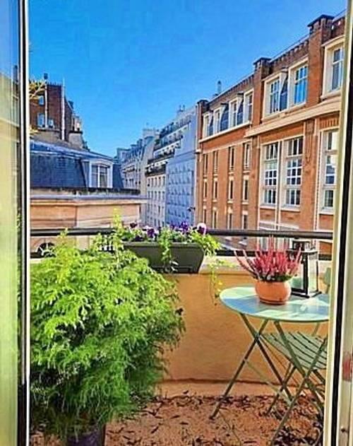 Loue T366m² grand balcon 16èmeRanelagh
