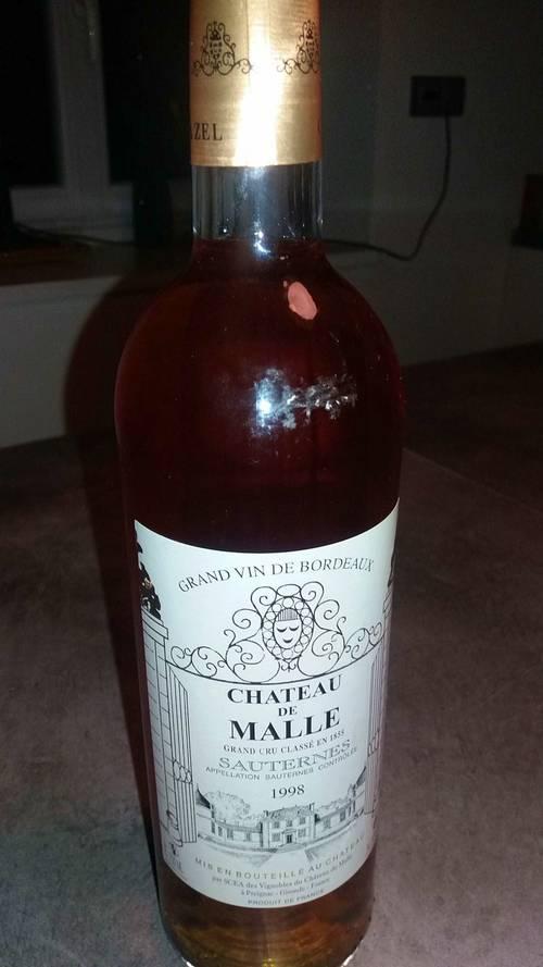 Sauternes grand vin de Bordeaux