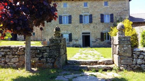 Loue au grand fougal maison de 7chambres - 15couchages - Haute-loire, auvergne-rhone-alpes - Saint-Jeures (43)